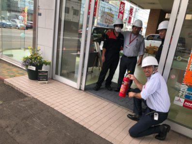 北19条店 本日は【避難訓練】の日