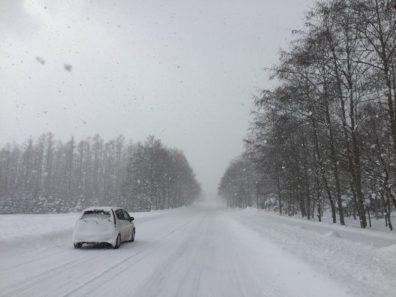 冬の後志・住友スタッフVS.猛吹雪編