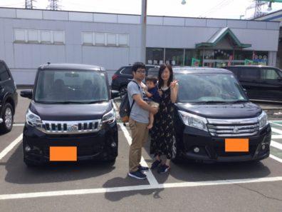 7月30日N様中古車デリカD2納車式