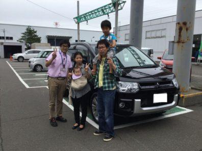 8月13日M様デリカD:5新車納車式