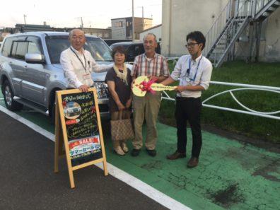 ★新車パジェロ!大西様納車式!!★