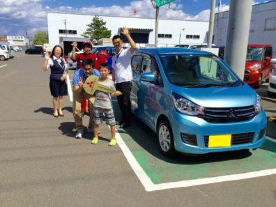 8月26日H様eKワゴン新車納車式
