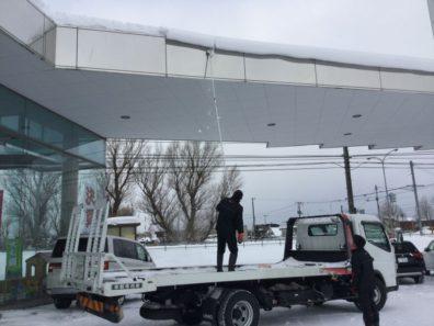 北海道の冬は厳しいな〜