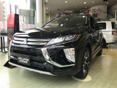 「エクリプスクロス」豊平店に展示車来ました!