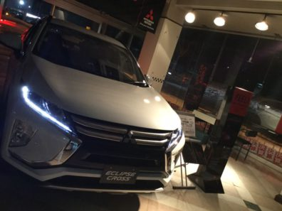 ☆新型エクリプスクロス展示車☆~夜バージョン~