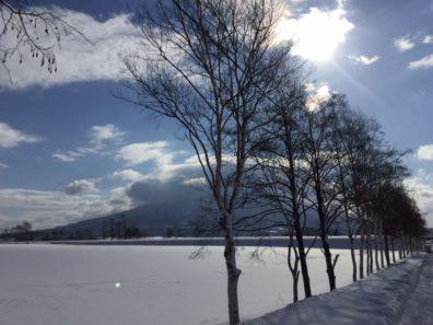 冬の後志・凍てつく青空の下編