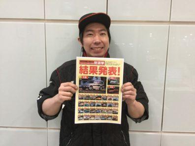 ☆三菱総選挙結果発表☆