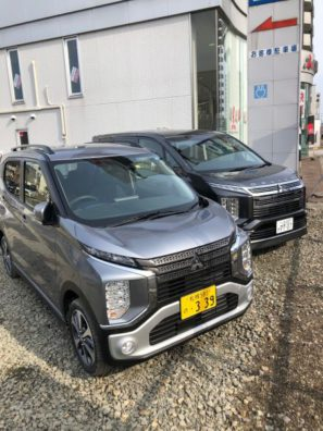 ☆☆☆新型軽自動車eKクロス試乗車きました!!☆☆