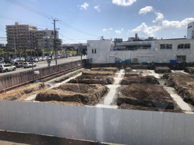 【西店】建て替え工事風景 5月22日 迷路(´∀`*)