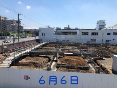 【西店】建て替え工事&新店舗情報 6月6日 アスレチック(´∀`*)