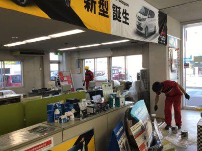 北海道三菱東店がチョット綺麗になりました。8日と9日に見に来ませんか?。。。