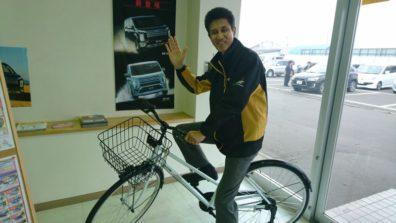 貸出自転車はじめました!