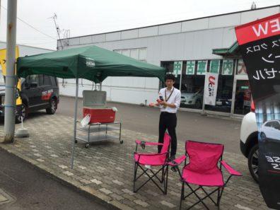 北海道三菱自動車東店では6月29日と30日は東クリーンカーと合同で展示会開催中です。