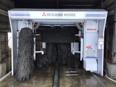 最新新型洗車機導入!!