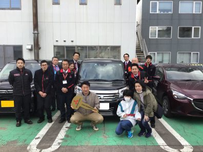 ☆南店・3月28日の納車式☆