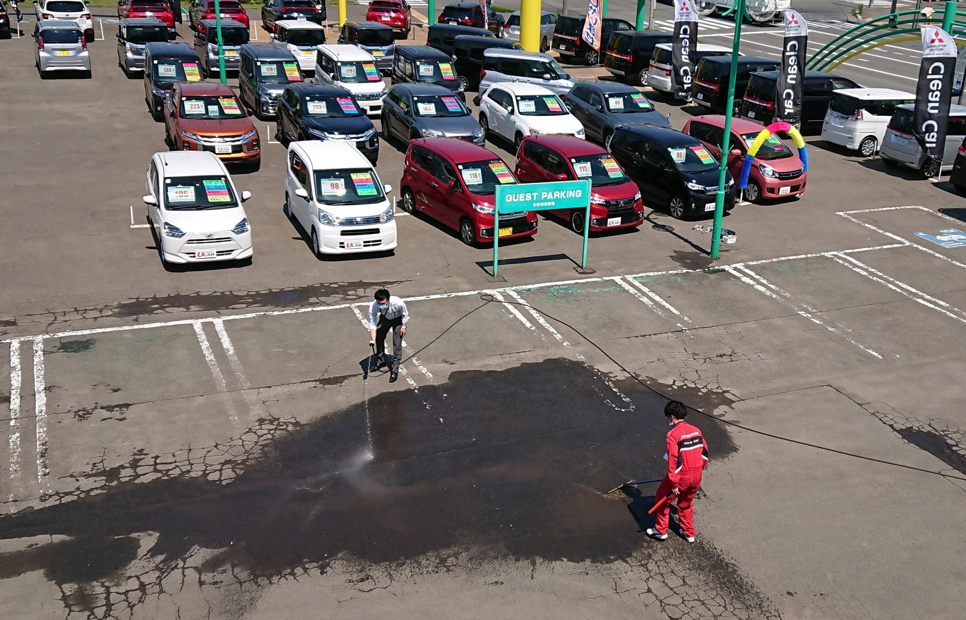 この駐車場が、、、