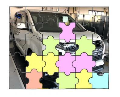 【デリカD:5】カスタマイズカーへの挑戦! 気持ちはパズル★