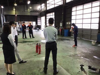 苫小牧店【消火訓練】