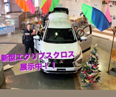 発寒店で新型エクリプスクロス展示中!SUVフェア開催!