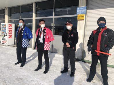 初売り3日目!!