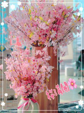 春ですね~~(*'ω'*)***決算開催中デス***