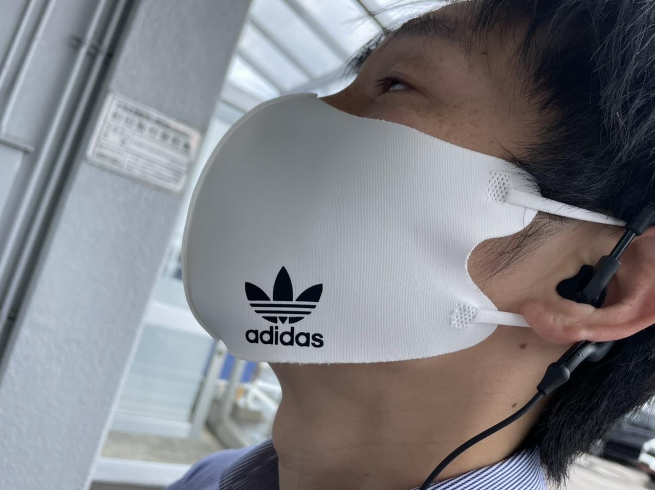 マスクもこだわるんです。